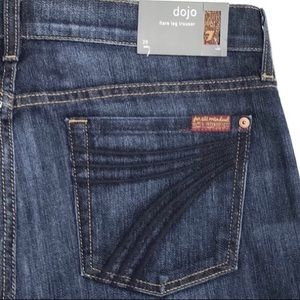NWT 7 For All Mankind Dojo Stretch Jeans